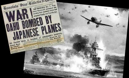 This World War was no radio play.
